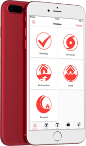 The Bahamas Red Cross Hazard Alert App for Android and iPhone